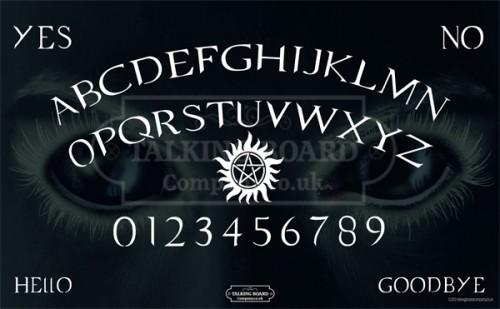 Supernatural Talking Board