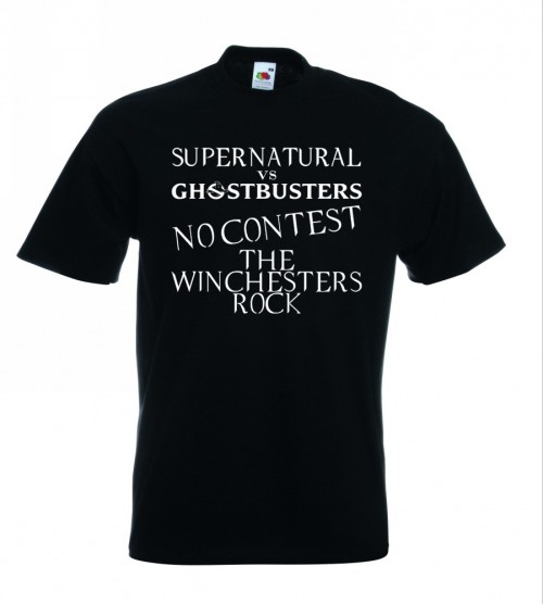 Supernatural V Ghostbusters TShirt