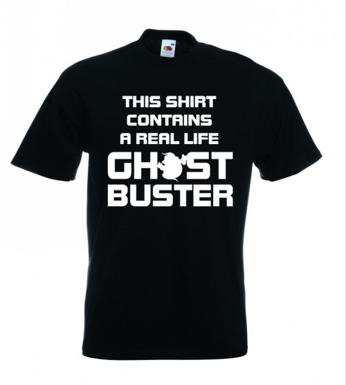 Real Ghostbuster TShirt