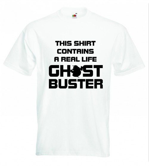 Real Ghostbuster TShirt White