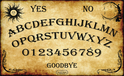 Ouija Style Talking Board Copyrighted
