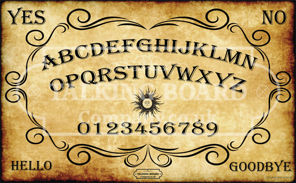 Traditional Ouija Style Talking Board Spirit Board
