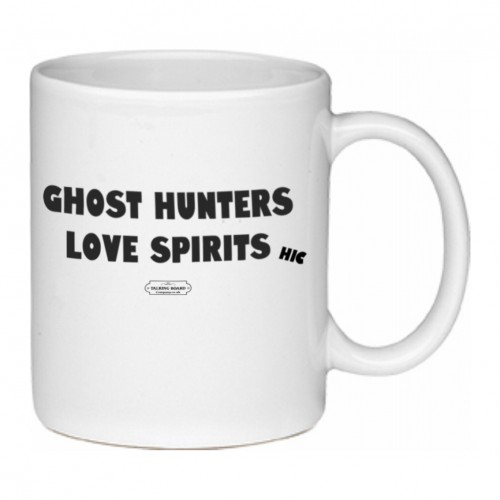 Ghost Hunters Love Spirits Mug