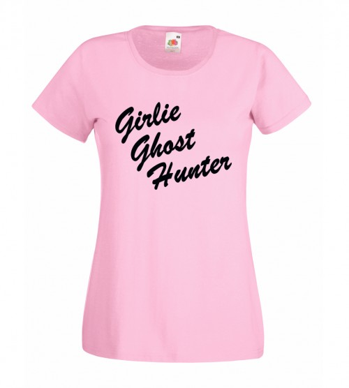 Girlie Ghost Hunter T-Shirt