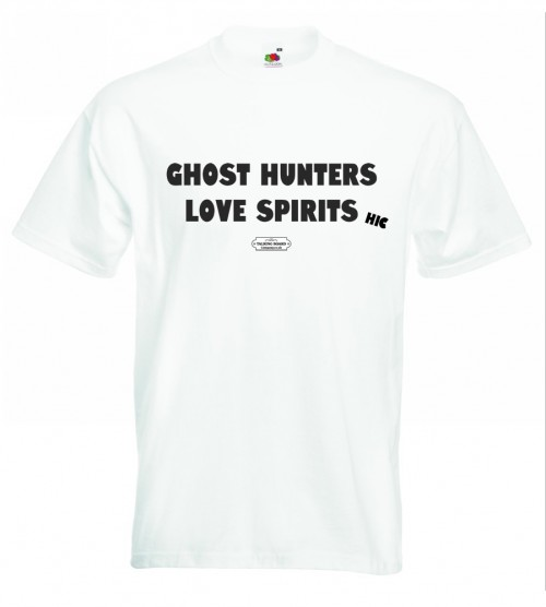 Ghost Hunters Love Spirits T-Shirt