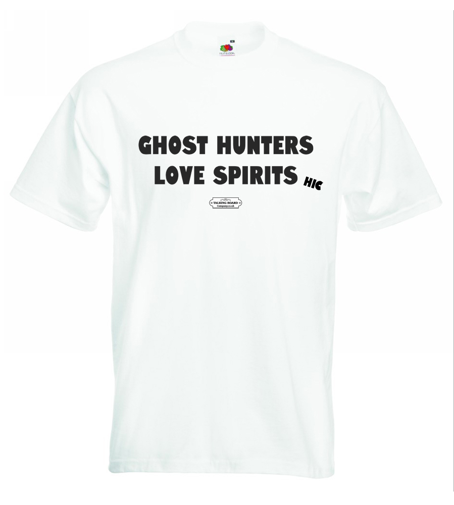 Ghost Hunters Love Spirits T-Shirt