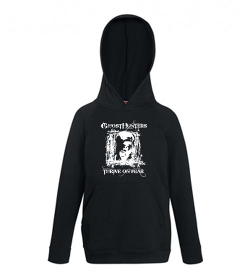 Ghost Hunters Thrive On Fear Hoodie