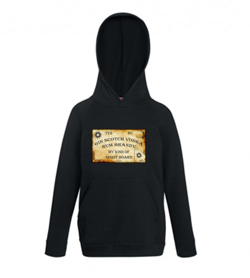 My Kind Of Spirit Board Ouija Black Hoodie