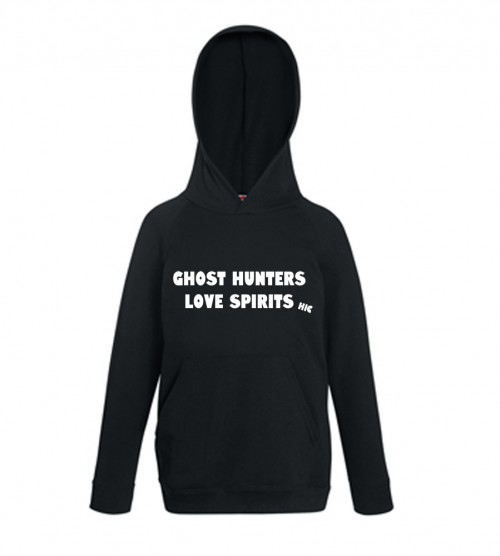 Ghost Hunters Love Spirits Hoodie